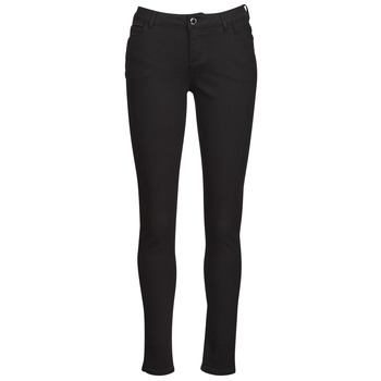 material Women 5-pocket trousers Morgan PETRA Black
