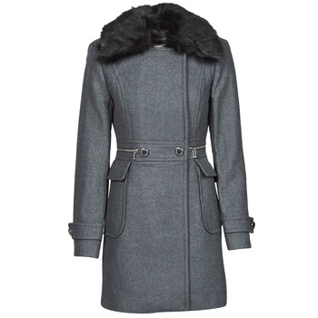 material Women coats Morgan GKATHY Grey / Anthracite