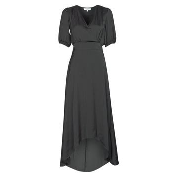 material Women Long Dresses Morgan RSIBIL Black