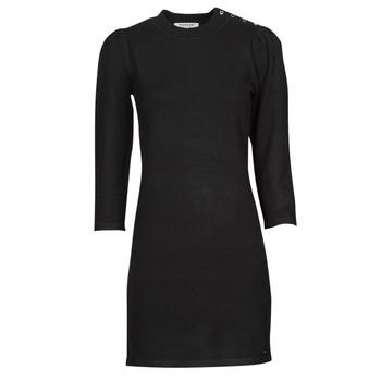 material Women Short Dresses Morgan RMALSI Black