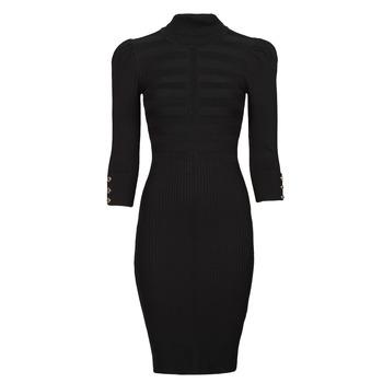 material Women Short Dresses Morgan RMTO Black