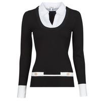 material Women jumpers Morgan MFLO Black / White