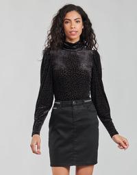 material Women Long sleeved shirts Morgan TISPI Black