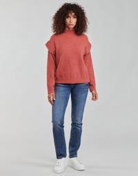 material Women straight jeans Freeman T.Porter ALEXA STRAIGHT SDM Blue / Dark