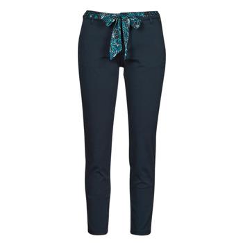 material Women 5-pocket trousers Freeman T.Porter CLAUDIA FELICITA Marine