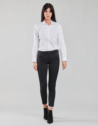 material Women 5-pocket trousers Freeman T.Porter TESSA CLASSICO Black