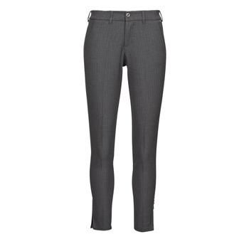 material Women 5-pocket trousers Freeman T.Porter ADELIE PRINCESS Grey / Anthracite