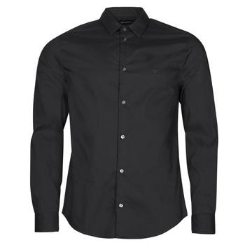 material Men long-sleeved shirts Emporio Armani 8N1C09 Black