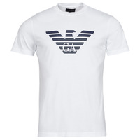 material Men short-sleeved t-shirts Emporio Armani 8N1TN5 White