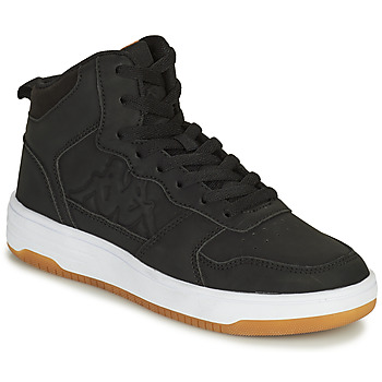 Shoes Boy High top trainers Kappa SEATTLE MID Black