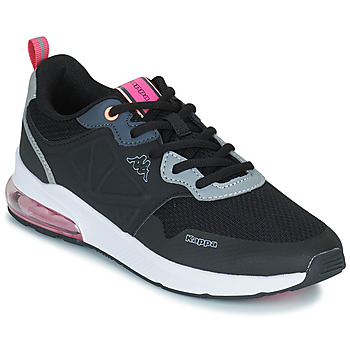 Shoes Girl Low top trainers Kappa SPLINTER LACE KID Blue / Pink