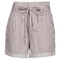 material Women Shorts / Bermudas Vero Moda VMEVA White / Brown