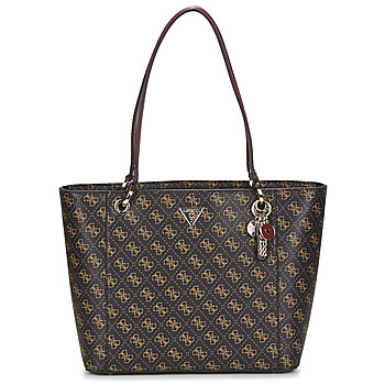 Bags Women Shopper bags Guess NOELLE ELITE TOTE Brown