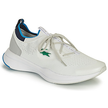 Shoes Men Low top trainers Lacoste RUN SPIN KNIT 0121 1 SMA White / Blue