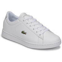 Shoes Children Low top trainers Lacoste CARNABY EVO BL 21 1 SUJ White