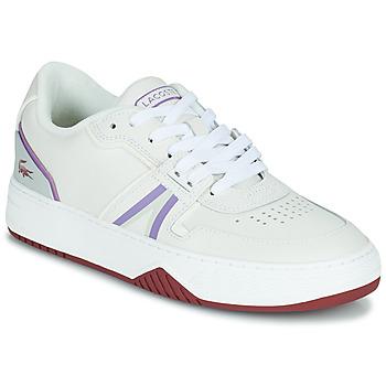 Shoes Women Low top trainers Lacoste L001 0321 1 SFA White / Violet