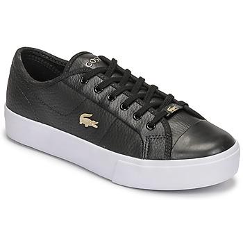Shoes Women Low top trainers Lacoste ZIANE PLUS GRAND 07211CFA Black