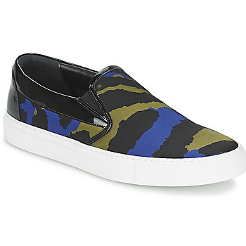 Shoes Women Slip ons Sonia Rykiel Sonia By - Sketch201 Black / Blue / Kaki