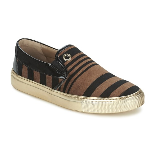 Sonia by Sonia Rykiel STRIPES VELVET women's Slip-ons (Shoes) in Free Shipping New Styles m7XQAKALaW