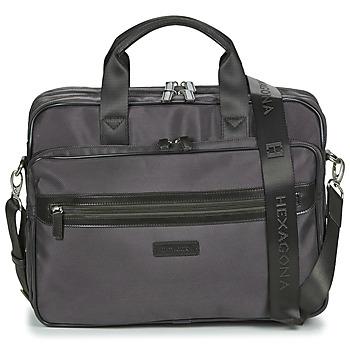 Bags Men Briefcases Hexagona WORKER Brown