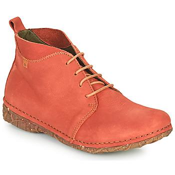 Shoes Women Mid boots El Naturalista ANGKOR Red