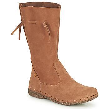 Shoes Women Boots El Naturalista ANGKOR Brown