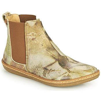 Shoes Women Mid boots El Naturalista CORAL Grey