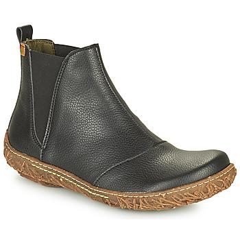 Shoes Women Mid boots El Naturalista NIDO ELLA Black