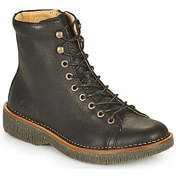 Shoes Women Mid boots El Naturalista VOLCANO Black