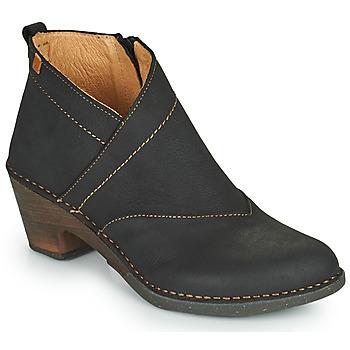 Shoes Women Ankle boots El Naturalista SYLVAN Black