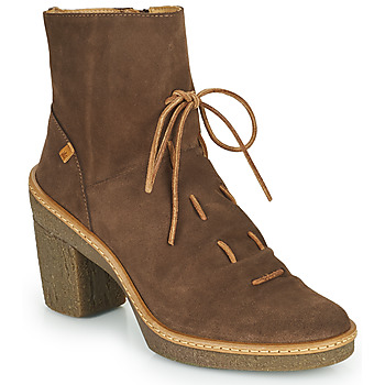 Shoes Women Ankle boots El Naturalista HAYA Brown