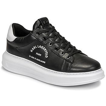 Shoes Men Low top trainers Karl Lagerfeld KAPRI MENS MAISON KARL LACE Black