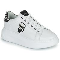 Shoes Women Low top trainers Karl Lagerfeld KAPRI KARL IKONIC STUD TAB White