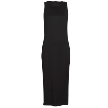 material Women Short Dresses Karl Lagerfeld KITTED WRAP DRESS Black