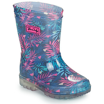 Shoes Girl Wellington boots Be Only BINTOU Blue / Pink