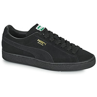 Shoes Low top trainers Puma SUEDE Black