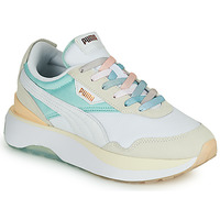 Shoes Women Low top trainers Puma CRUISE RIDER White / Multicolour