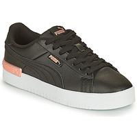 Shoes Women Low top trainers Puma JADA Black / Gold