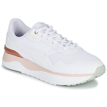 Shoes Women Low top trainers Puma R78 VOYAGE White / Pink