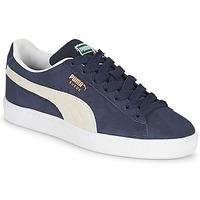 Shoes Children Low top trainers Puma SUEDE JR Blue / White