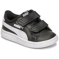 Shoes Children Low top trainers Puma SMASH INF Black / White