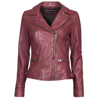 material Women Leather jackets / Imitation leather Oakwood VIDEO Bordeaux