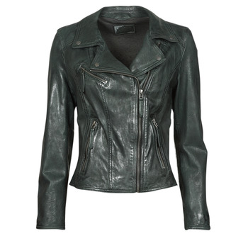material Women Leather jackets / Imitation leather Oakwood CLIPS 6 Blue