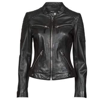 material Women Leather jackets / Imitation leather Oakwood HILLS6 Black