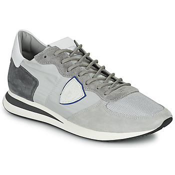 Shoes Men Low top trainers Philippe Model TRPX LOW MAN Grey