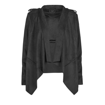 material Women Leather jackets / Imitation leather Guess SOFIA JACKET Black