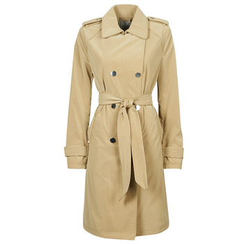 material Women Trench coats Guess SUSAN TRENCH Beige