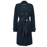 material Women Trench coats Guess SUSAN TRENCH Marine