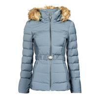 material Women Duffel coats Guess CLAUDIA DOWN JACKET Blue / Clear