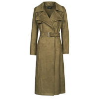 material Women Trench coats Guess BARAA TRENCH Brown